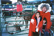 Children with Mrs. Claus