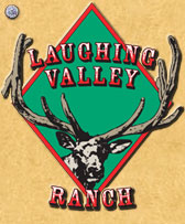 Laughing Valley Ranch logo